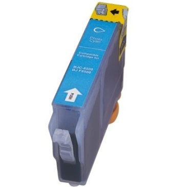 BCI-8PC Ink Cartridge - Canon Compatible (Photo Cyan)