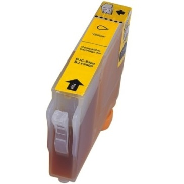 BCI-8Y Ink Cartridge - Canon Compatible (Yellow)