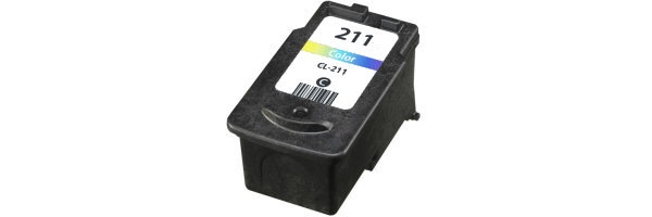 CL-211 Ink Cartridge - Canon Remanufactured (Color)