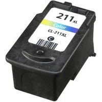 CL-211XL Ink Cartridge - Canon Remanufactured (Color)