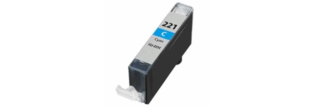 CLI-221C Ink Cartridge - Canon Compatible (Cyan)