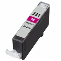 CLI-221M Ink Cartridge - Canon Compatible (Magenta)