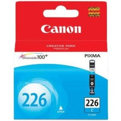 CLI-226C Ink Cartridge - Canon Genuine OEM (Cyan)