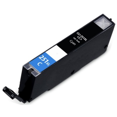 CLI-251C XL Ink Cartridge - Canon Compatible (Cyan)