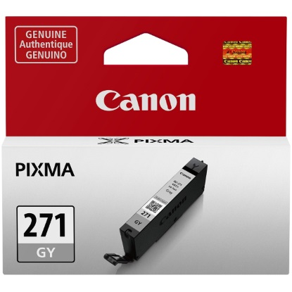 CLI-271 GY Ink Cartridge - Canon Genuine OEM (Gray)
