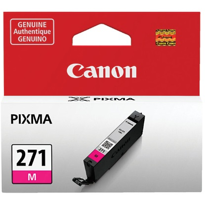 CLI-271 M Ink Cartridge - Canon Genuine OEM (Magenta)
