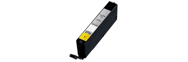 CLI-271XL Y Ink Cartridge - Canon Compatible (Yellow)