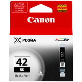 CLI-42BK Ink Cartridge - Canon Genuine OEM (Black)