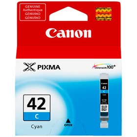 CLI-42C Ink Cartridge - Canon Genuine OEM (Cyan)