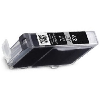 CLI-42LGY Ink Cartridge - Canon Compatible (Light Gray)