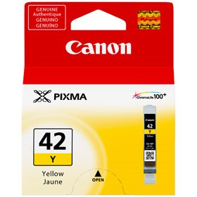 CLI-42Y Ink Cartridge - Canon Genuine OEM (Yellow)