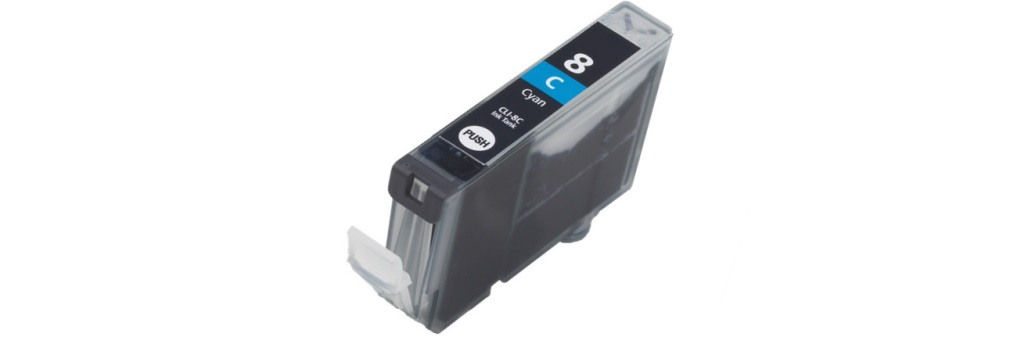CLI-8C Ink Cartridge - Canon Compatible (Cyan)