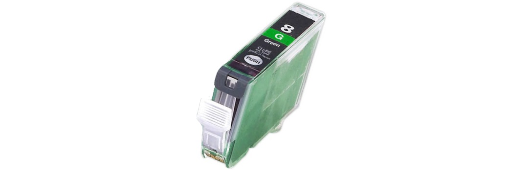 CLI-8G Ink Cartridge - Canon Compatible (Green)
