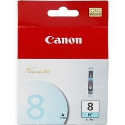 CLI-8PC Ink Cartridge - Canon Genuine OEM (Photo Cyan)