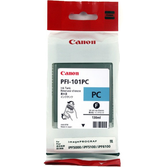 PFI-101PC Ink Cartridge - Canon Genuine OEM (Photo Cyan)