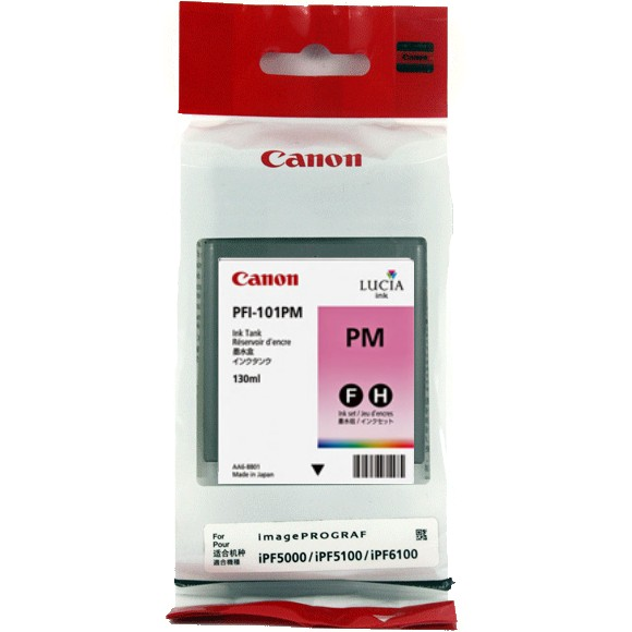 PFI-101PM Ink Cartridge - Canon Genuine OEM (Photo Magenta)