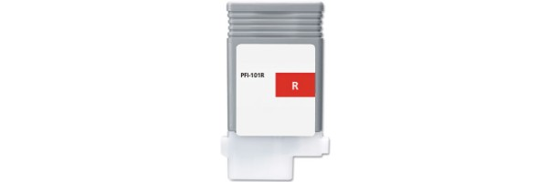 PFI-101R Ink Cartridge - Canon Compatible (Red)