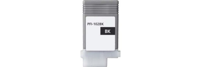 PFI-102BK Ink Cartridge - Canon Compatible (Black)