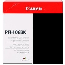 PFI-106BK Ink Cartridge - Canon Genuine OEM (Black)