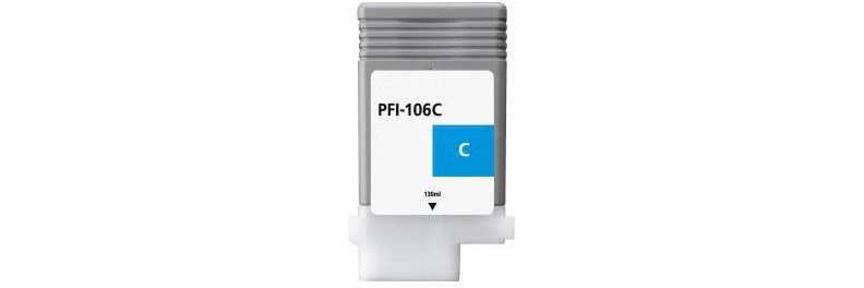 PFI-106C Ink Cartridge - Canon Compatible (Cyan)