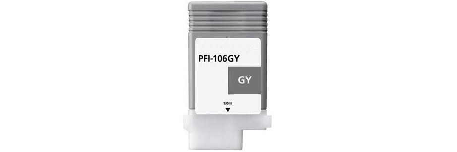 PFI-106GY Ink Cartridge - Canon Compatible (Gray)