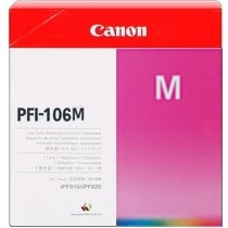 PFI-106M Ink Cartridge - Canon Genuine OEM (Magenta)