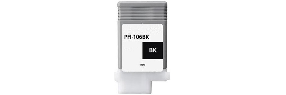 PFI-106MBK Ink Cartridge - Canon Compatible (Matte Black)