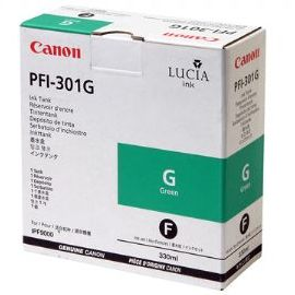 PFI-301G Ink Cartridge - Canon Genuine OEM (Green)