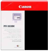 PFI-303BK Ink Cartridge - Canon Genuine OEM (Black)