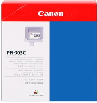 PFI-303C Ink Cartridge - Canon Genuine OEM (Cyan)