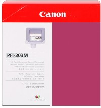 PFI-303M Ink Cartridge - Canon Genuine OEM  (Magenta)
