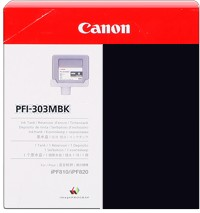 PFI-303MBK Ink Cartridge - Canon Genuine OEM (Matte Black)