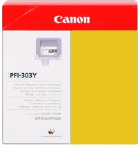 PFI-303Y Ink Cartridge - Canon Genuine OEM (Yellow)