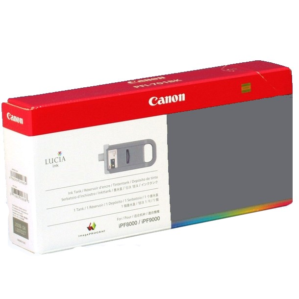 PFI-701GY Ink Cartridge - Canon Genuine OEM (Gray)