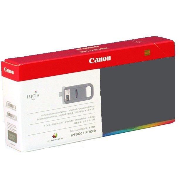 PFI-702PGY Ink Cartridge - Canon Genuine OEM (Photo Gray)