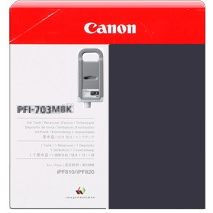 PFI-703MBK Ink Cartridge - Canon Genuine OEM (Matte Black)