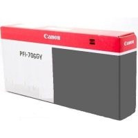 PFI-706GY Ink Cartridge - Canon Genuine OEM (Gray)