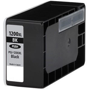 PGI-1200BK XL Ink Cartridge - Canon Compatible (Black)