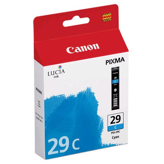 PGI-29C Ink Cartridge - Canon Genuine OEM (Cyan)