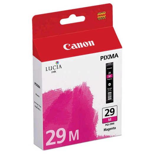 PGI-29M Ink Cartridge - Canon Genuine OEM (Magenta)