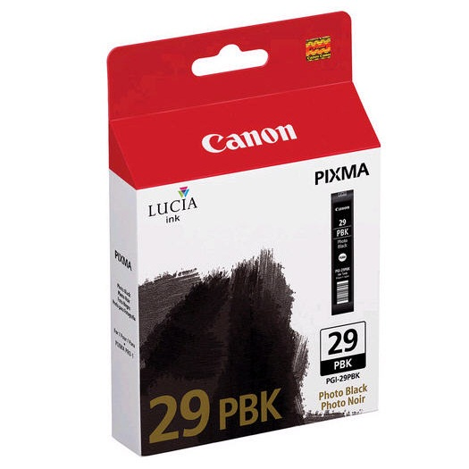 PGI-29PBK Ink Cartridge - Canon Genuine OEM (Photo Black)