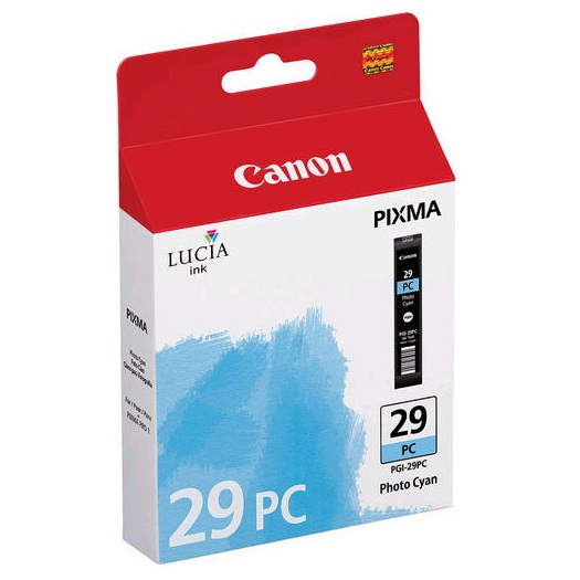 PGI-29PC Ink Cartridge - Canon Genuine OEM (Photo Cyan)