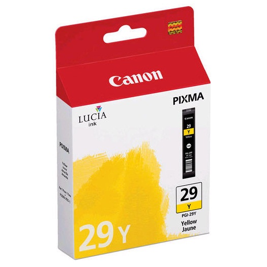 PGI-29Y Ink Cartridge - Canon Genuine OEM (Yellow)