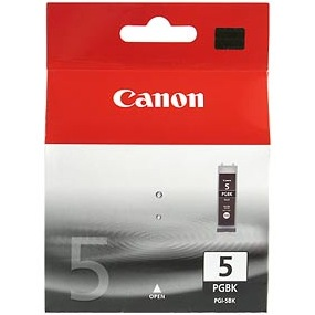 PGI-5BK Ink Cartridge - Canon Genuine OEM (Black)