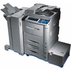 Konica 7145 printer