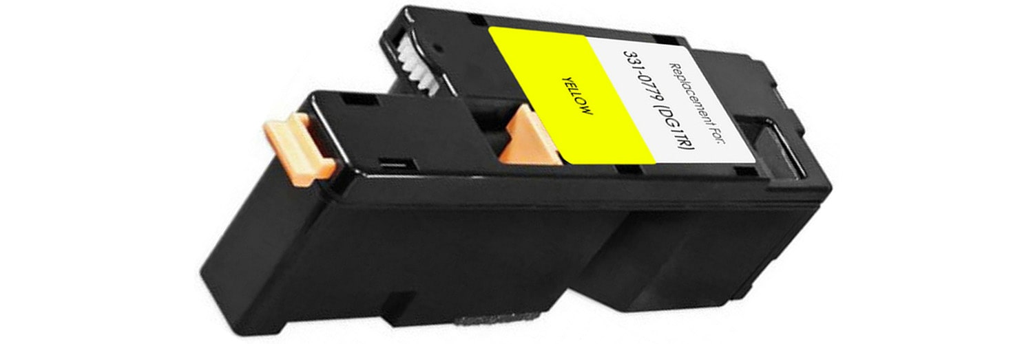 331-0779 Toner Cartridge - Dell Compatible (Yellow)