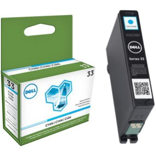 331-7378 Ink Cartridge - Dell Genuine OEM (Cyan)