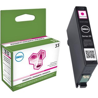 331-7379 Ink Cartridge - Dell Genuine OEM (Magenta)
