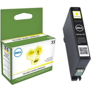331-7380 Ink Cartridge - Dell Genuine OEM (Yellow)