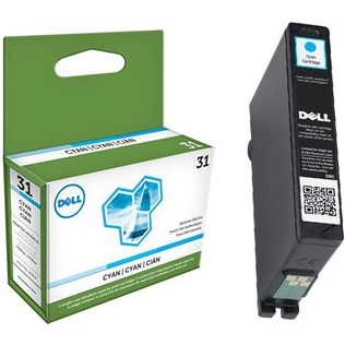 331-7691 Ink Cartridge - Dell Genuine OEM (Cyan)